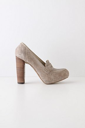 Botanist Heeled Loafers - Anthropologie.com