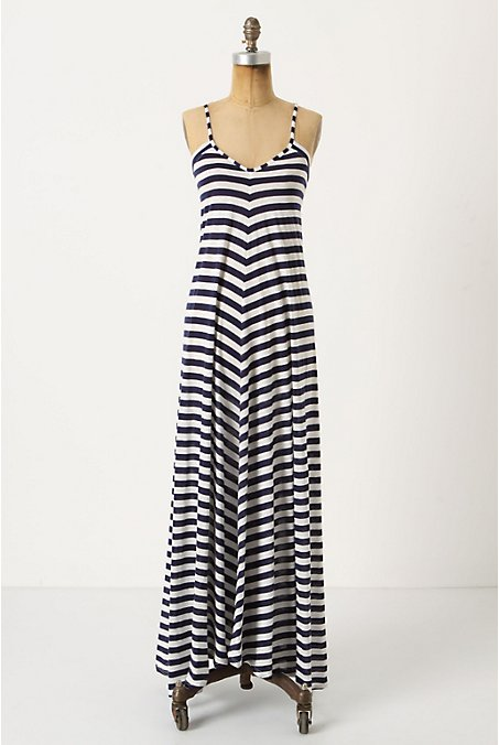 Nautical Dreaming Chemise - Anthropologie.com :  beach jersey sleeveless summer