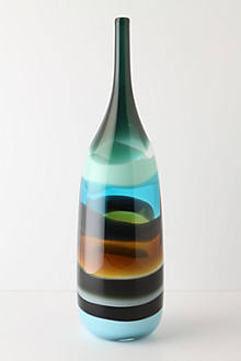 Sand Strata Vase, Bottle