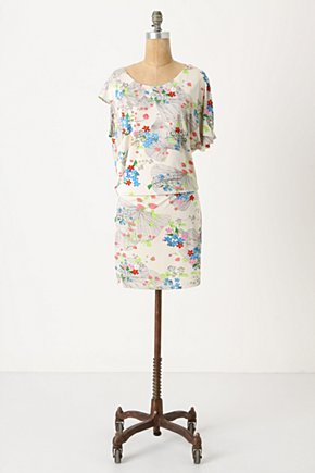 Lingonberry Dress - Anthropologie.com :  nature inspired mini dress jersey drop waist