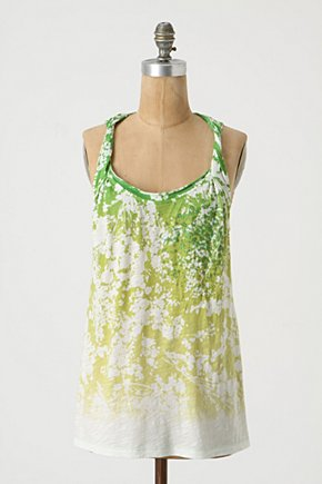 Underexposed Tank - Anthropologie.com :  spattered jersey scoopneck tank top