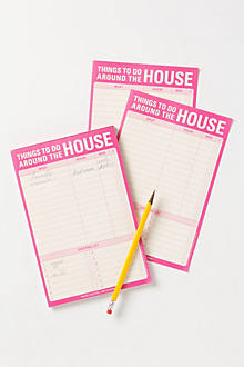 Around The House Notepad