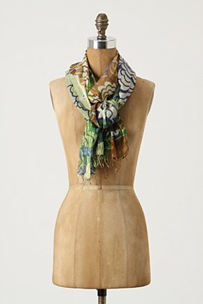 Massive Mum Scarf - Anthropologie.com :  chrysanthemum asian inspired airy scarf