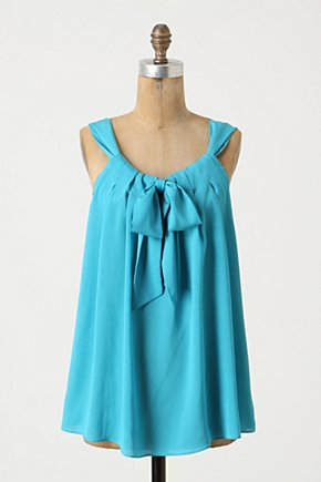 Antilles Tank - Anthropologie.com :  bow tie swingy flowy tank top