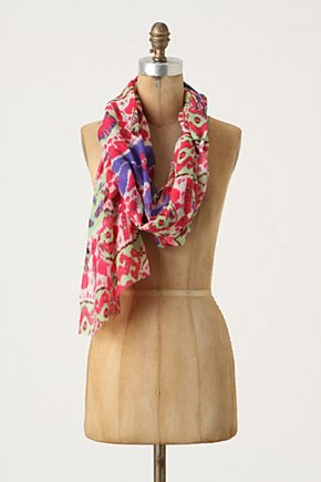Downy Ikat Scarf - Anthropologie.com