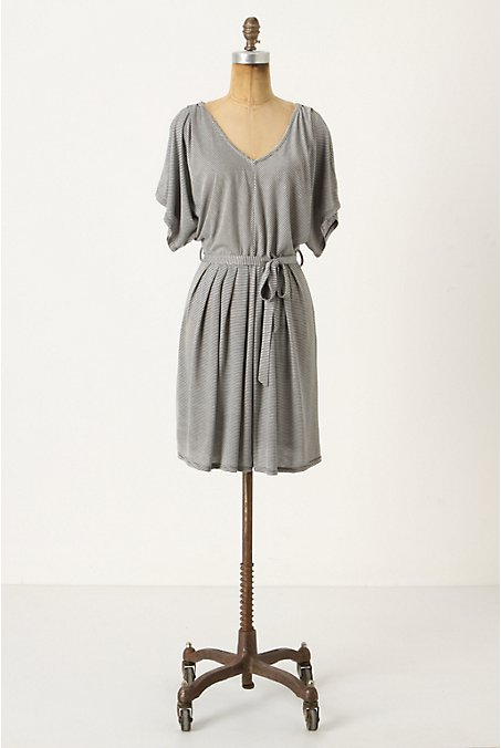 Sashed Stripe Chemise - Anthropologie.com