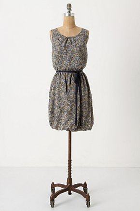 Wildflower Foxtrot Dress - Anthropologie.com :  bubbled sash twirly elasticized