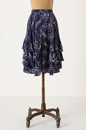 Sky Wisped Skirt - Anthropologie.com from anthropologie.com