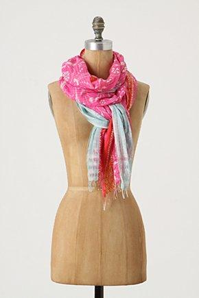 Rosewater Scarf-Anthropologie.com :  pink gauzy breezy scarf