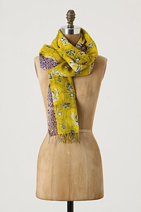 Sun Drenched Scarf Anthropologie com from anthropologie.com