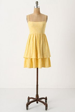 Match-Set Chemise - Anthropologie.com :  sunny chemise nightgown yellow