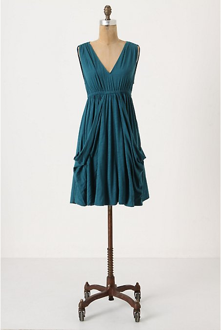 Midsummer's Chemise - Anthropologie.com :  jersey dress draped mermaid