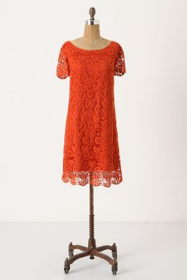 0fa8960e7669 Anthropologie A shift dress that works on hourglasses customer on ...