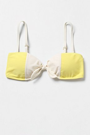 High Sun Bikini Top - Anthropologie.com :  colorblock top sunny bikini