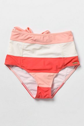 High Sun Bikini Bottoms - Anthropologie.com :  bikini bottom high waist colorblock