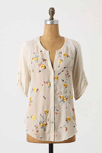 Lush Lattice Shirt - Anthropologie.com from anthropologie.com
