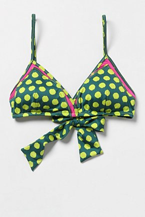 Pop-Of-Dots Bikini Top - Anthropologie.com from anthropologie.com