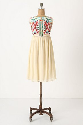 Contrasting Halves Dress - Anthropologie.com