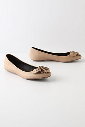 Doily Flounce Flats - Anthropologie.com from anthropologie.com