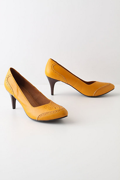 Elevated Oxfords - Anthropologie.com :  pumps leather oxfords menswear inspired