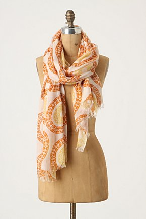Coral Sun Scarf - Anthropologie.com from anthropologie.com