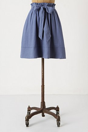 Cloudless Skies Paperbag Skirt - Anthropologie.com