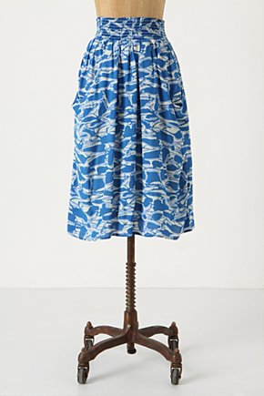 Shape Suggestion Skirt - Anthropologie.com from anthropologie.com