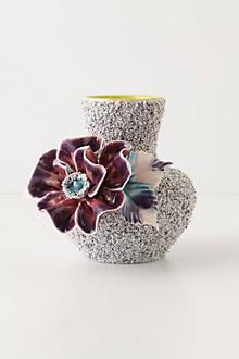 Speckled Petunia Vase