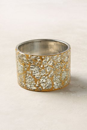 Crackled Looking Glass Bangle - Anthropologie.com from anthropologie.com