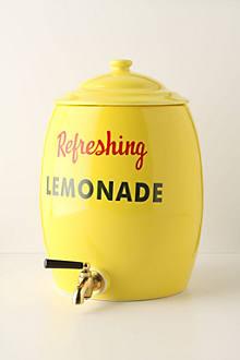 Refreshing Lemonade Urn