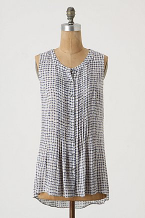 Blueberry Basket Buttondown - Anthropologie.com :  sleeveless shirt blueberry button down