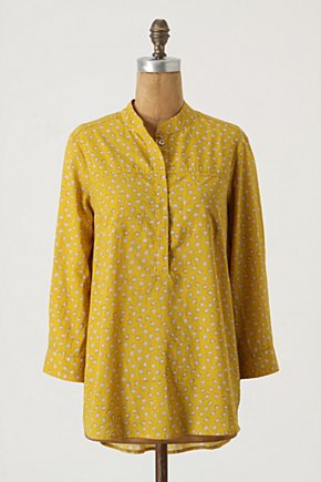 Sea Whims Tunic - Anthropologie.com :  placket tunic front pockets collar