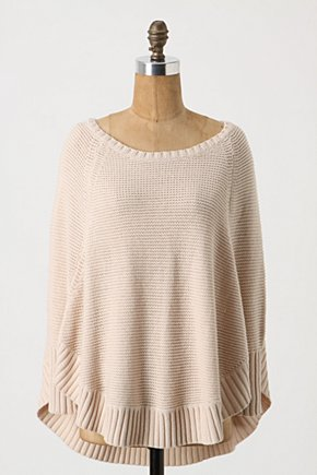 Sweeping Stitches Pullover - Anthropologie.com :  neutral pullover scalloped sweater