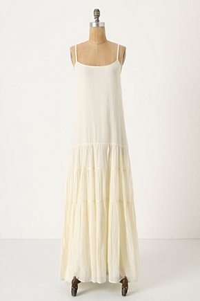 Traversed Chemise - Anthropologie.com :  spaghetti straps chemise drop waist adjustable