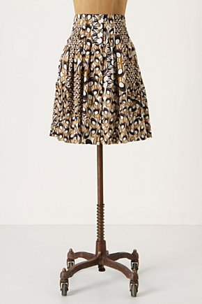 Apothecary Skirt - Anthropologie.com :  snaps skirt draped sateen