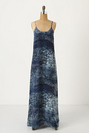 Cobalt-Splashed Maxi Dress - Anthropologie.com from anthropologie.com