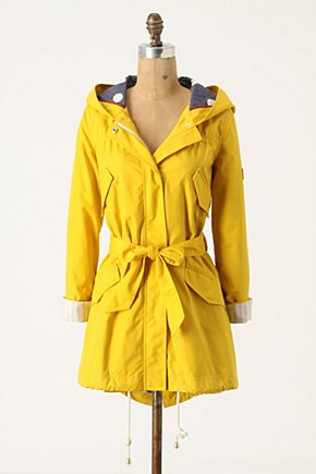 Heritage Raincoat - Anthropologie.com :  waterproof waist tie jacket raincoat