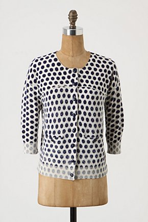 Flipped Dots Cardigan - Anthropologie.com from anthropologie.com