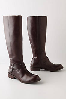 Hitched Knee Boots