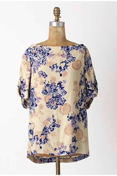 Wild Bouquet Blouse - Anthropologie.com :  blouse tunic dandelion twisted