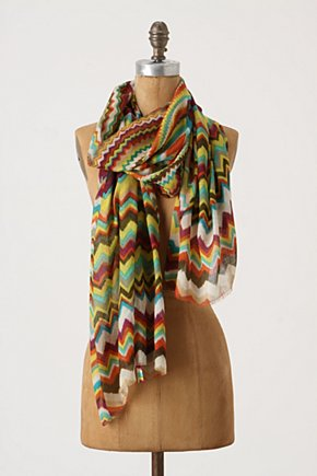 Spectrum Path Scarf  - Anthropologie.com :  wool blend silk blend colorful airy