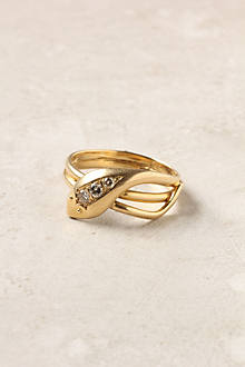 Triple Serpent Ring