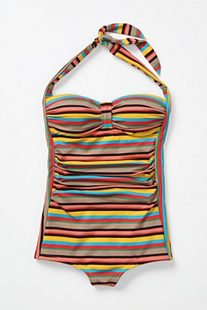 Color-Pop Maillot - Anthropologie.com from anthropologie.com