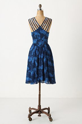 Strappy Dandelion Dress - Anthropologie.com