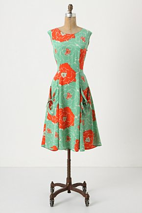 Backswept Dress - Anthropologie.com