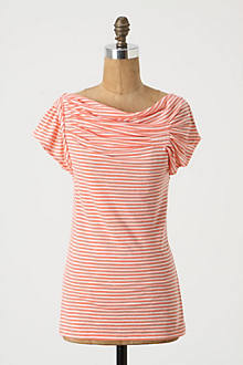 Pleated Yoke Tee