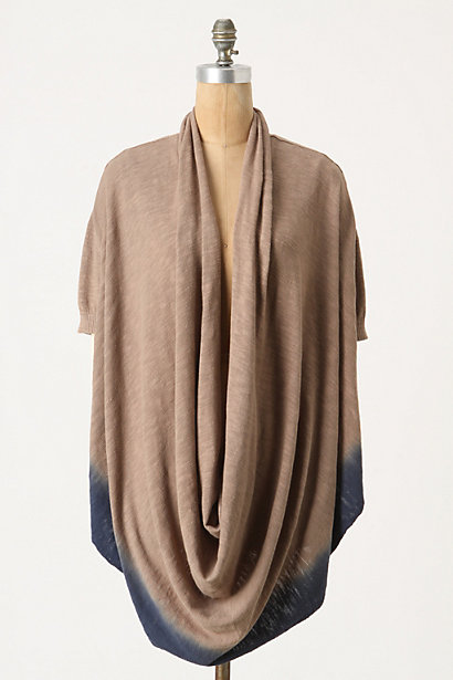 Warm Embrace Pullover - Anthropologie.com :  neutral cowled indigo convertible