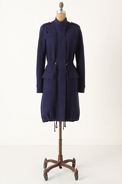 Wiltshire Jacket - Anthropologie.com :  wool military style side pockets turtleneck