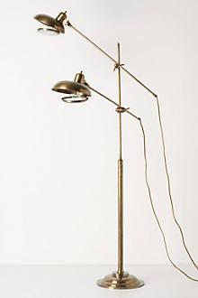 Twin Beacons Lamp