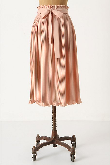 Anthropologie - Million Pleats Midi  :  pleated skirt anthropologie skirt